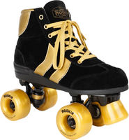 Rookie Authentic V2 Quad Patines Quad Negro/Oro