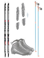 Rossignol Cross Country Classic - Principiante Package