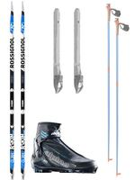 Rossignol Cross Country Classic Waxfree - Intermediate Package