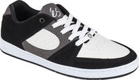 És Accel Slim Black/White/Grey Skate shoes