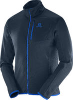 Salomon Discovery FZ Cross Country Ski Jacket Men