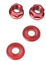 Salt Aluminium Axle Nut Set