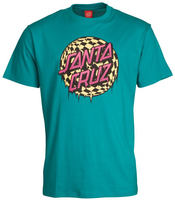Santa Cruz Check Waste Dot Camiseta skate
