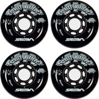 Seba Street Invaders 80mm Rollen 4-Pack