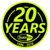 SkatePro 20 Years Anniversary Sticker