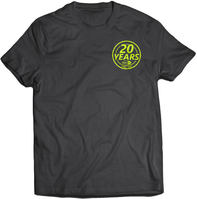 SkatePro 20 Years Camiseta
