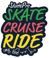SkatePro Skate Cruise Ride Fresh Sticker