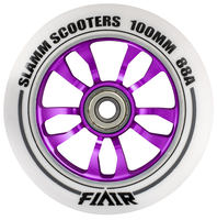 Slamm Flair 100mm Stunt Scooter Rolle (komplett)