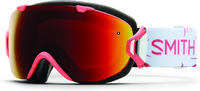 Smith I/OS Sunburst Zen ChromaPop Sun Red Ski Goggles