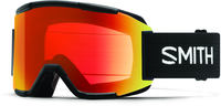 Smith Squad Black ChromaPop Everyday Red Ski Goggles