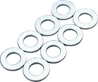 Supreme Turbo 33 Alu Rolle Washers 8-Pack