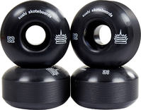 Sushi Pagoda Team Skateboard wheels Black 4-pack