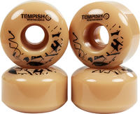 Tempish Beige Skateboard wheels 4-pack