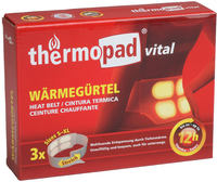 Thermopad Heat Belt Pack de 3