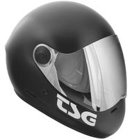 TSG Pass Solid Satin Downhill Helmet