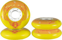 Undercover Deer 76mm Bullet Radius Wheels 4-pack
