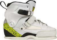 USD Carbon Free Team White Skate Boot Only
