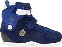USD Carbon Team Blue Aggressive Skate Boot Only