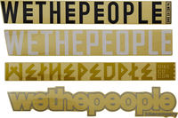 Wethepeople 4BIG Sticker Package