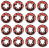 Wicked ABEC 7 Freespin 608 16-Pack Bearings