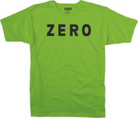 Zero Army Fluro Green T-Shirt