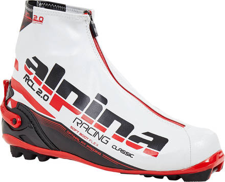 Alpina RCL WhiteSki Cross Country Ski Boots Classic - Alpina cross country ski
