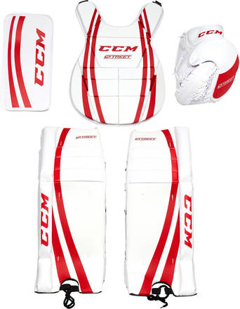 Goalie Kit for Street Hockey from CCM - Buy Goalie Gear here