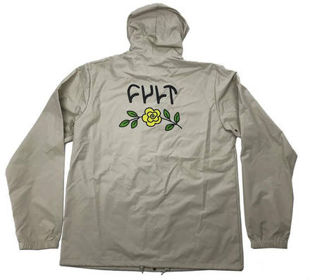 8279b2852 Cult In Bloom Hooded Button Down Jacket - Jackets
