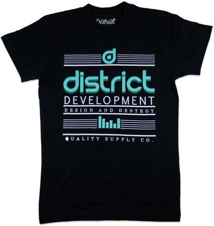 District Supply Co Destroy T shirt