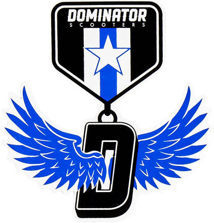 Dominator Scooter Stickers-17 Stickers
