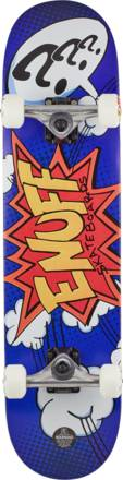 """Enuff Pow Blue Complete Skateboard 7.75"""" X 31.5"""" Tracked Delivery"""