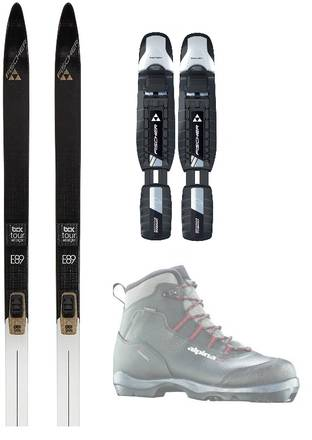 Fischer Nordic Backcountry Skipakke