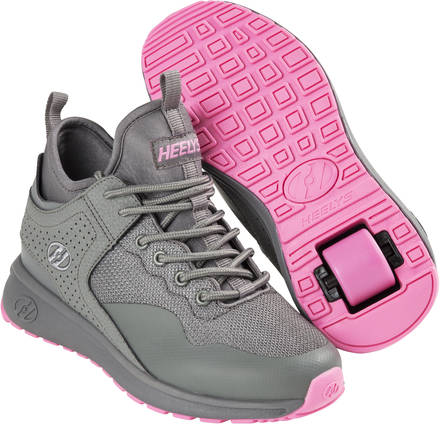 Heelys Piper GreyPink Shoes With Wheels  SkatePro