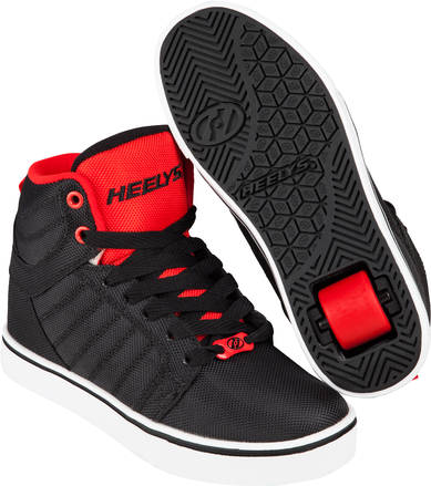 Red High Top Skate Shoes