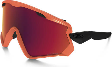 17ae49025a0b Oakley Wind Jacket 2.0 Neon Orange Prizm Torch Iridium Brille - Skibriller  Ski