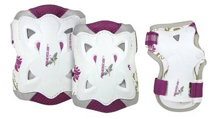 Powerslide Butterfly Protection Set Girls