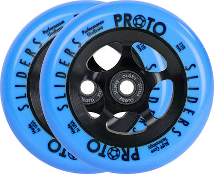 Skates For Sale >> Proto Slider Day-Glo Pro Scooter Wheels 2-Pack - Scooters