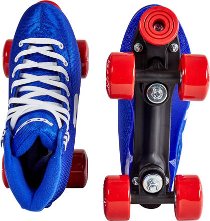 Roces Womens 52 Star Roller Skates 4 Black-Red