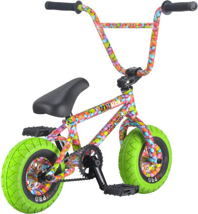 Rocker 3 Crazymain Smarties Freecoaster Mini Bmx Bike