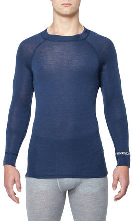 Thermowave Merino Warm Hommes Chandail à manches longues