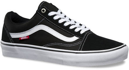 zwart wit vans old skool