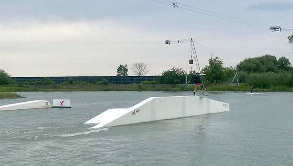Wake 'up' - perfect your snowboard tricks in the summer