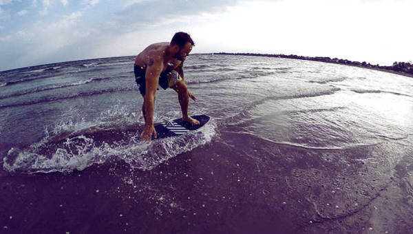 This is why we surf at SkatePro! Part 4 - Skimboarding