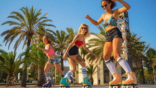 Roller skating: The best exercising ever
