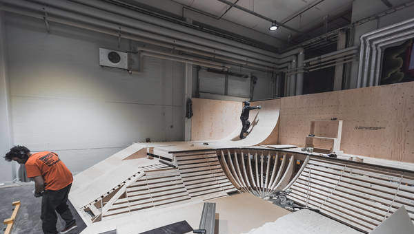 The Dome: the most advanced action sports arena in Scandinavia