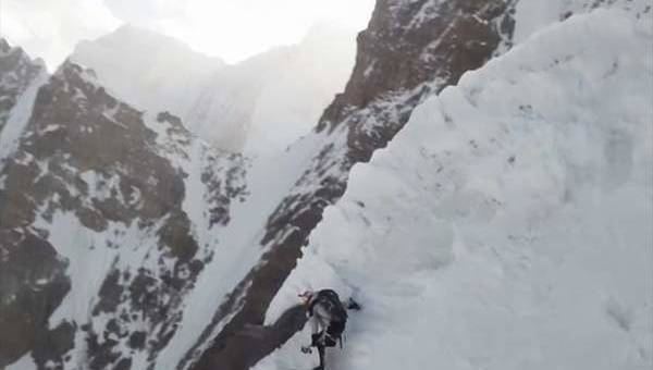 First ever skier to ride down the most dangerous peak: K2