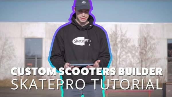 Build your own custom scooter