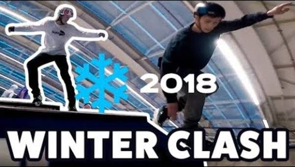 Winterclash 2018: Celebrating aggressive blading